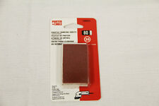 PORTER CABLE Sanding Disks Pack of 20 80 Grit Profile Sanding Sheets 758000820