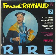 Fernand Raynaud 45 RPM EP during?Ces with Ma Sister -the Cutter - Philips 432422