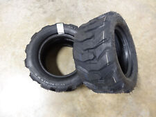 TWO 18X8.50-10 BKT Skid Power Compact Tractor Tires Heavy Duty Indstrl 8 ply R-4