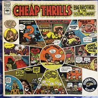 Janis Joplin / Big Brother & Holding Co. – Cheap Thrills : 1968 Vinyl LP VG+