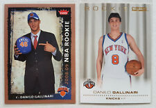 DANILO GALLINARI RC ROOKIE CARDS LOT (2008-09 SKYBOX #206 & FLEER #206)