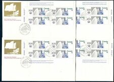 HIGH VALUE LANDMARKS, MONTREAL OLYMPIC GAMES CANADA 1976 Scott 687-688 FDC'S