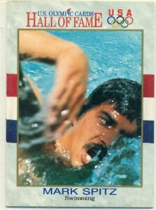 U.S. OLYMPIC CARDS - HALL OF FAME - MARK SPITZ - SWIMMING
