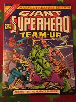 Marvel Treasury Edition #9 1976 Giant Superhero Team Up Marvel Comics.