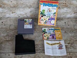 The Flintstones Rescue of Dino & Hoppy Nintendo NES Game Boxed Mint PAL A