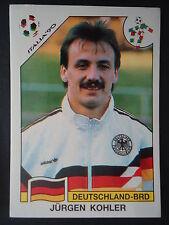 Panini 197 Jürgen Kohler Deutschland WM 90 World Cup Story