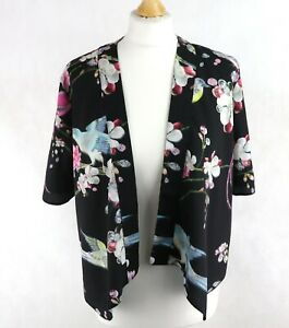 Girls TED BAKER Floral Waterfall jacket Age 12 years 152 cm Bolero Dress Blazer