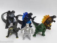 lot 6 Godzilla Monsters Mechagodzilla Trendmaster Gigan Anguirus  Figure