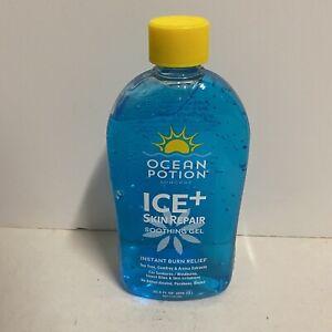 Ocean Potion Ice Skin Repair Instant Burn Relief Aloe Vera Gel HTF