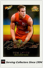 2017 AFL Footy Stars Trading Card Best & Fairest BF8 Tom Lynch (Gold Coast)RARE