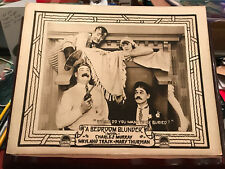 A Bedroom Blunder 1919 Paramount silent comedy lobby card Charles Murray Mary Th