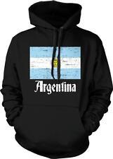 Argentina Flag Text Argentine Pride Orgullo Bandera de Argentina Hoodie Pullover