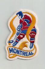 Vintage Montreal Canadiens Cloth Crest