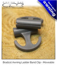 Bradcot Awning Replacement Adjustable Ladder Band Clips - Sold in Pairs