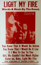 "The Doors quote from their hit song ""Light My Fire"" Poster Print"