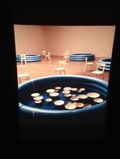 """Celeste Boursier-mougenot """"series 2 1999"""" Conceptual Sculpture Art 35mm Slide"""