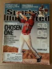 Bryce Harper 2009 1st Cover Sports Illustrated Phillies Nationals No label