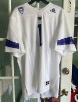 Men's Adidas Washington Huskies NCAA Football Jersey PAC 12 FL2091 Size XL