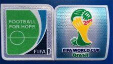 FIFA World Cup BRAZIL 2014  Soccer Patch / Flock Football Badge (2pcs)