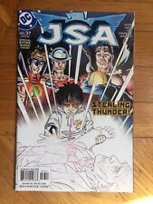 DC Comics  JSA #37 (2002) Geoff Johns File Photo