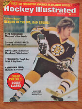 BOBBY ORR Hockey Illustrated (January 1975) Magazine BOSTON BRUINS