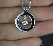 Roberto Coin 18k Oro Blanco Ags Cento 0.27ct Diamond Collar con Colgante