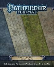 Pathfinder Flip Mat: Basic Terrain Multi Pack PZO 30024-MP