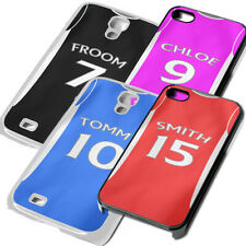 Custom Football kit Name Phone Cover for iPhone iPod Samsung 5 6 7 5th 6th case