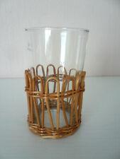 Glaswaren Glas Dekoglas Snackglas Servierglas für Snacks, Salzstangen u.ä.