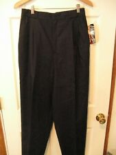 women's CASABLANCA dress pants---NWT--Navy--size 14
