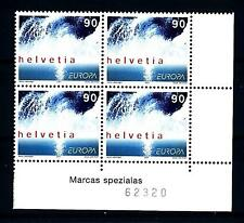 SWITZERLAND - SVIZZERA - 2001 - Europa. L'acqua, ricchezza naturale