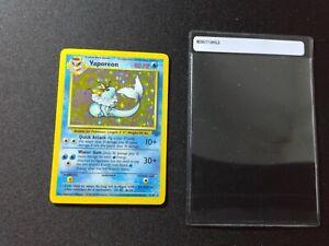 Vaporeon Holo Rare -Jungle- Pokemon Cards -PSA READY 12/64
