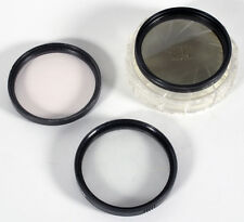 49MM POLARIZER SKY UV HAZE SET OF 3