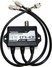COMET CFX-431DTriplexer /Antennenweiche 1.3-150 MHz / 350-500 MHz / 900-1400 MHz
