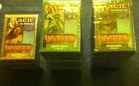 MTG Invasion Pick a Theme Deck Wizards of the Coast 2000 Magic the Gathering MTG