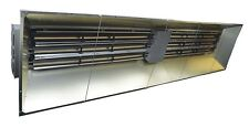 Infrared Heater 240 Volts - 92,151 BTU - 2,7000 Watts - 3 Phase - Metal Sheath