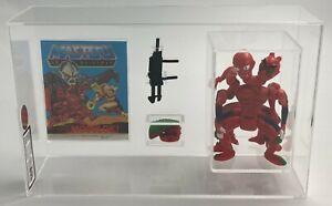 MOTU He-Man Vintage Loose Modulok with Comic Series 4 Malaysia 1985 AFA UKG 85%