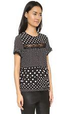 NWT Marc by Marc Jacobs Polka Dot Set -Midi Skirt & Blouse sz2 M RARE$378+$398