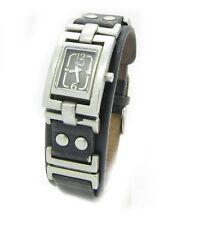 Fossil Damenuhr Armbanduhr Damen Leder schwarz JR-9833 5AM Batterie neu N41