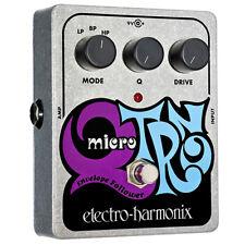 Electro-Harmonix XO Micro Q-Tron Envelope Filter Guitar Effects Pedal QTron