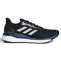 ADIDAS SOLAR DRIVE 19 Mens Boost Running Shoes - Black Blue - Size 10