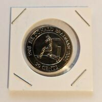 2001 Sir Donald Bradman Australian 20 Twenty Cent Piece Coin Uncirculated UNC
