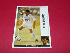 LUIS MILLA MERENGUES REAL MADRID PANINI LIGA 95-96 ESPANA 1995-1996 FOOTBALL