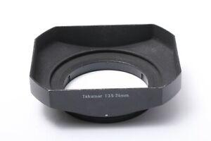 GENUINE TAKUMAR METAL Hood Rectangle For 24 mm F/3.5 JAPAN 201168