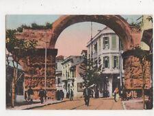 Salonica Salonique Arc d'Alexandre le Grand Greece Vintage Postcard 858a