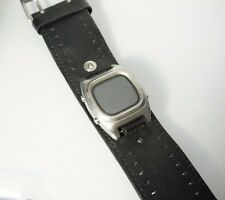 Nixon CTRL+ALT+DEL Men's Watch Black Leather Strap