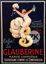 LA GLYCÉRINE Marcel CHANTEAUD Pharmacie LAXATIF Intestin Publicité MICH 1920s