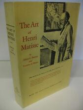 THE ART OF HENRI MATISSE by Albert C. Barnes - Violette de Mazia 1978 Softcover