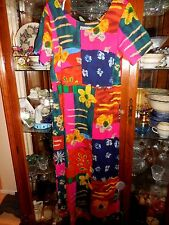 Jams World FAB  S Panda women dress NEW NWT Hawaiian Asian  MAXI  Long  Cruise