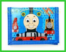 new Thomas The Tank cartoon Wallet boys kids tri-fold coin purse